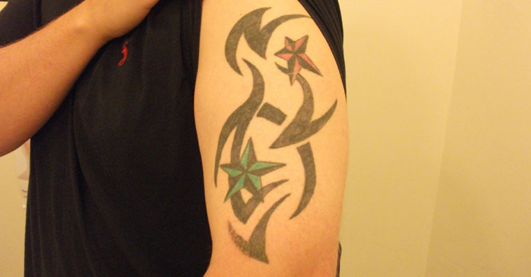 Tribal Tattoo Cover Up