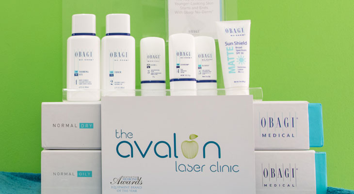 Obagi & Blue Radiance Peel at Avalon Laser & Beauty Clinic